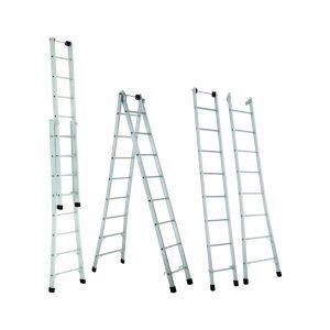Escadas Extensiva - Aço e Alumínio